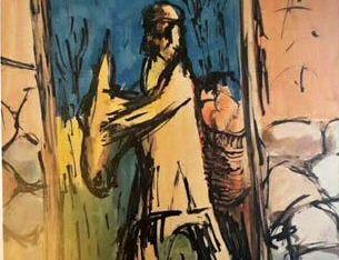 تابلوی دزدیده شده نقاش مشهور پیدا شد