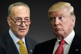 ترامپ و شومر  به جان هم افتادند