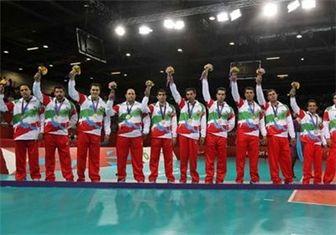 تیم والیبال نشسته مردان طلایی شد