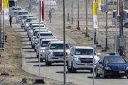 کاروان اسکورت پاپ در عراق/ گزارش تصویری