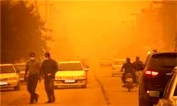 گرد و غبار در جنوب شرق کشور