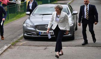 پیشتازی حزب حاکم انگلیس در انتخابات