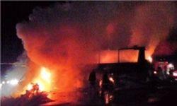 آتش سوزی پژو آر. دی به علت نقص فنی