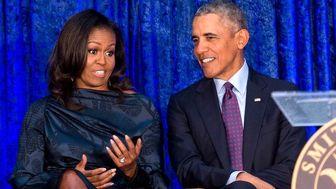 شغل تازه اوباما و همسرش