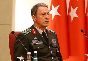 وزیر دفاع ترکیه خواستار پایان عملیات ارتش سوریه در ادلب شد