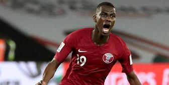 برتری قطر مقابل عمان