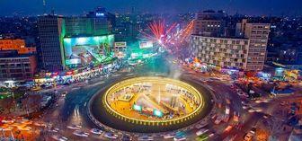 رونمایی از دیوارنگاره جدید میدان ولیعصر (عج) /عکس