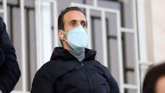 آخرین وضعیت سلامتی انصاریان از زبان علی کریمی+ فیلم