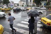 بارش باران تابستانی در رشت/ گزارش تصویری