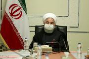 روحانی: وزارت صمت در خط مقدم مبارزه با تحریم است