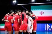 برنامه بازی های تیم ملی والیبال ایران در مسابقات والیبال قهرمانی آسیا