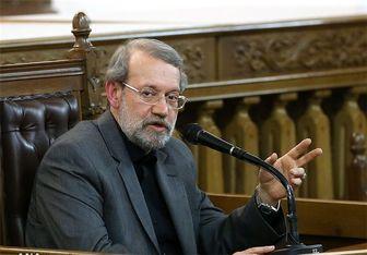 لاریجانی: انتخابات نباید تخریبکننده عزت ملی کشور باشد