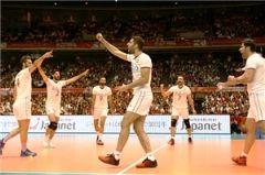 ایران 1 - صربستان 3/باخت مقابل تیم بدون شکست لیگ جهانی