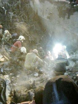 آخرین وضعیت آواربرداری ساختمان پلاسکو