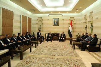 جزئیات دیدار ظریف با نخست وزیر سوریه