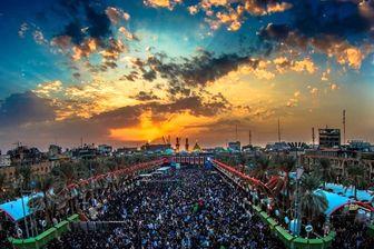 تصویری بهشتی از کربلا در شب اول محرم