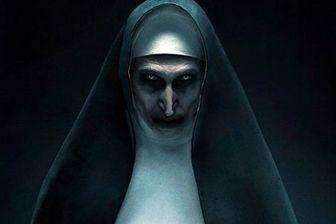 غوغایی که «راهبه» ترسناک به پا کرد/عکس