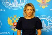 واکنش زاخارووا به اتهامزنیهای آمریکا و فرانسه