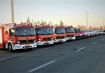 استقرار دهها آتشنشان تهرانی در مرزهای سهگانه