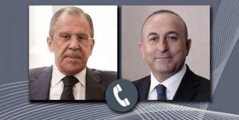 گفتگوی تلفنی لاوروف و چاووشاوغلو درباره ادلب