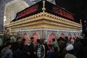 حال و هوای فاطمیه در حرم علوی/ گزارش تصویری