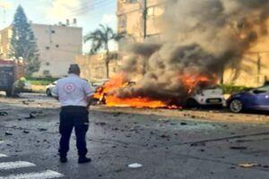 انفجار یک خودرو در تل آویو