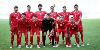 ورود امیدهای فوتبال ایران به ازبکستان