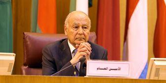 اظهارات بی شرمانه دبیر کل اتحادیه عرب در واکنش به سازش کشورهای عربی با اسرائیل