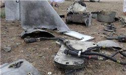 سقوط پهپاد جاسوسی عربستان