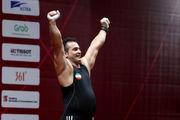 طلای وزنهبرداری قهرمانی غرب آسیا در دستان سهراب مرادی