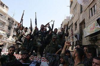خروج برخی از تروریست ها از غوطه شرقی