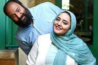 ژست جالب زوج مشهور بازیگر با ظاهری جدید/عکس