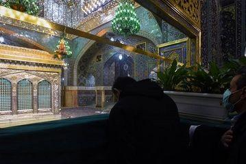 حرم رضوی در آستانه ۱۳رجب/ گزارش تصویری