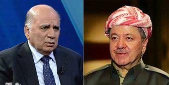 گفتوگوی وزیر خارجه عراق و بارزانی