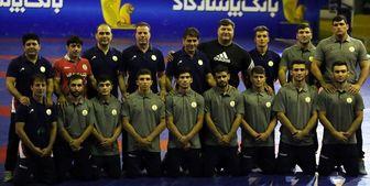 ایران قهرمان مسابقات کشتی فرنگی جوانان آسیا