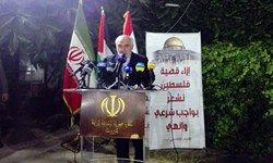 حملات سخت کنونی علیه تهران به دلیل حمایت از فلسطین و گروههای مقاومت است