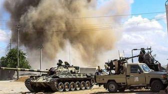 حمایت امارات  از حفتر در لیبی