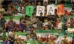سه مهمان ویژه در دیدار والیبال ایران - ایتالیا
