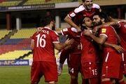 باخت  سوریه قبل از بازی ایران به الجزایر