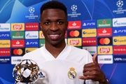 بهترین بازیکن هفته لیگ قهرمانان اروپا شد