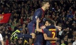 پیروزی پرگل بارسلونا در خانه ساراگوسا