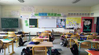 مدارس فرانسه به دلیل شیوع کرونا تعطیل شد