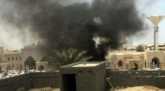 لحظه انفجار در مسجد امام حسین(ع) دمام / فیلم