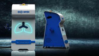 ساخت دستگاه تنفس مصنوعی اورژانسی برای اولین بار در کشور