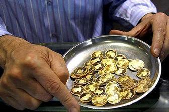 حباب ۴۹۰ هزار تومانی قیمت سکه