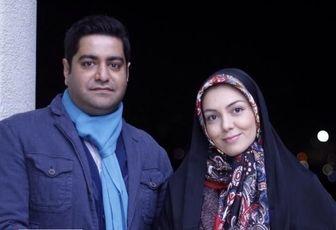 وداع آخر همسر آزاده نامداری با وی /عکس