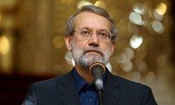 لاریجانی: استفاده سرویس های اطلاعاتی از جریانهای تروریستی به رشد تروریسم دامن زد
