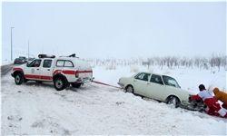 ۸ جاده به دلیل شرایط نامناسب جوی مسدود است