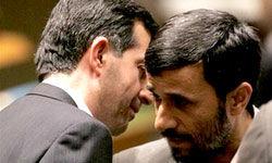 خبری از فاصله افتادن بین احمدی نژاد و مشایی!