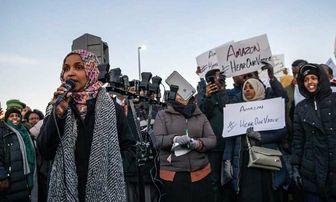 مواضع ضد عربستانی نماینده مسلمان کنگره آمریکا